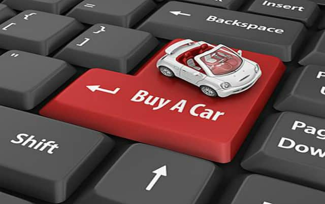 buying cars online